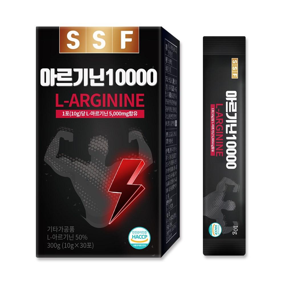 순수식품 아르기닌 10000 고함량 L-아르기닌 5000mg함유 10gX30포(1개월분), 10g, 30개