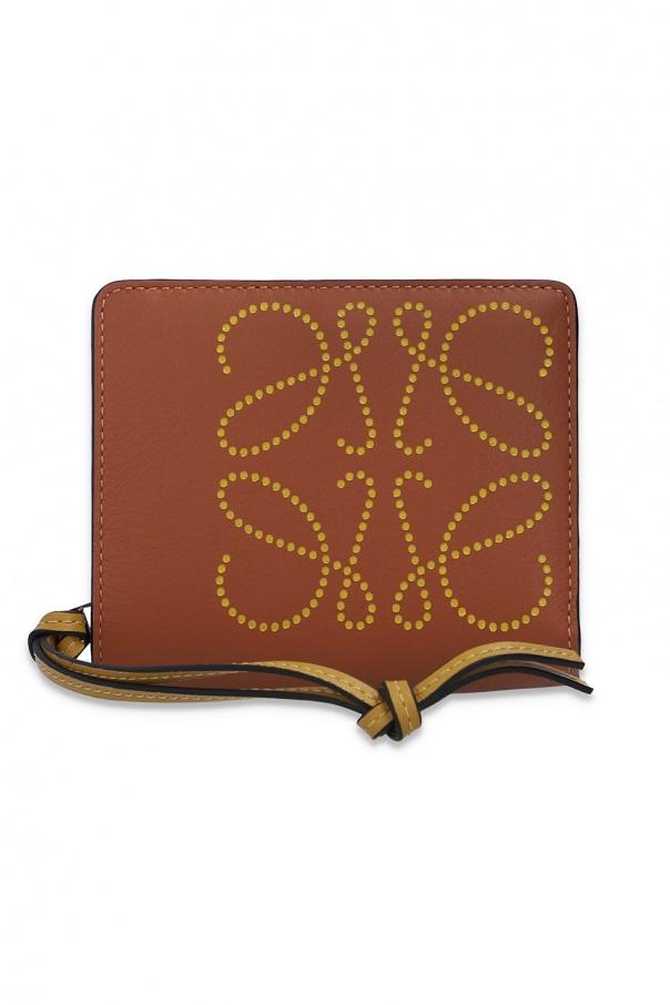 로에베 지갑 로고 - BROWN - UNI 10354Z41 0-TAN OCHRE 150불 이상 주문시 부가세 별도