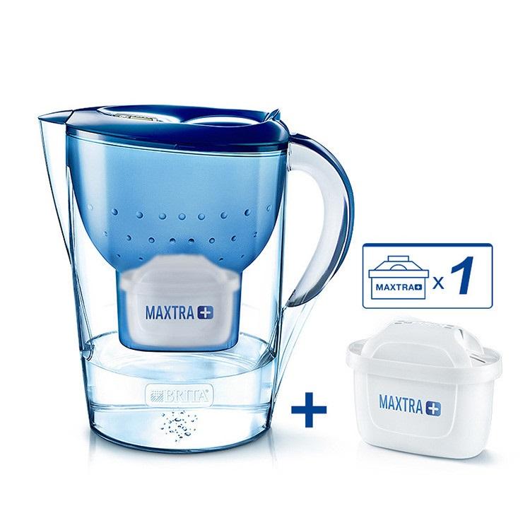 브리타 필 & 인조이 마렐라 XL 정수기 맥스트라+ 카트리지 1개 포함 블루 3.5L