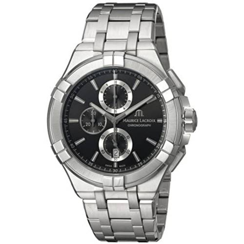 Maurice Lacroix Maurice Lacroix Mens Aikon Quartz Watch with Stainless