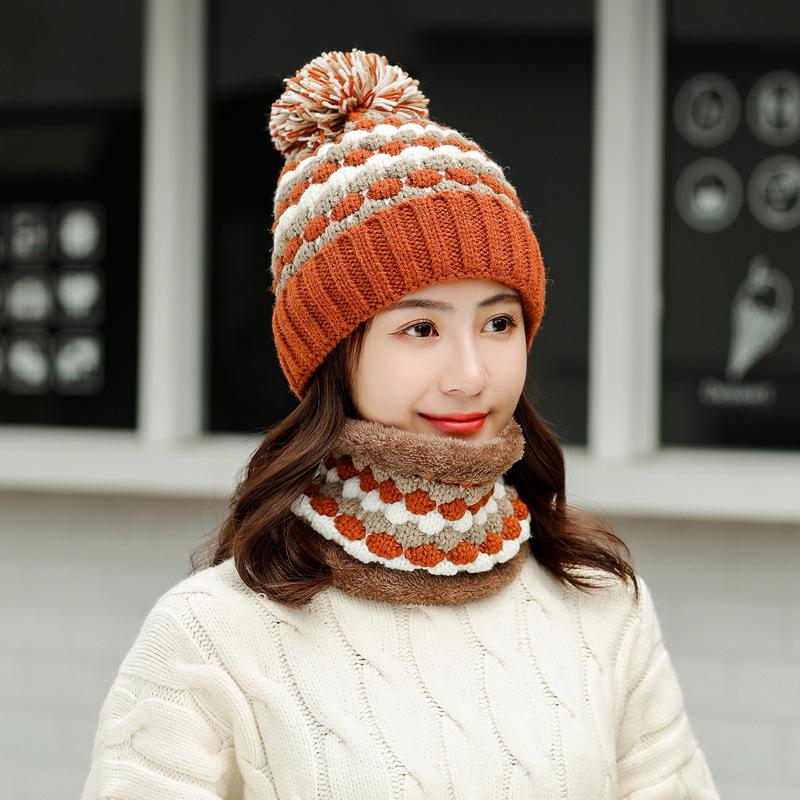 비니 여성모자 겨울기모 스윗귀여운 가을겨울 침 털모자 코디하기쉬운 보온