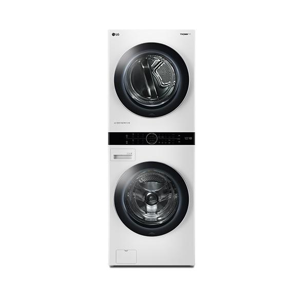 LG전자 W16WS 트롬 워시타워 원바디세탁건조기 트루스팀 화이트