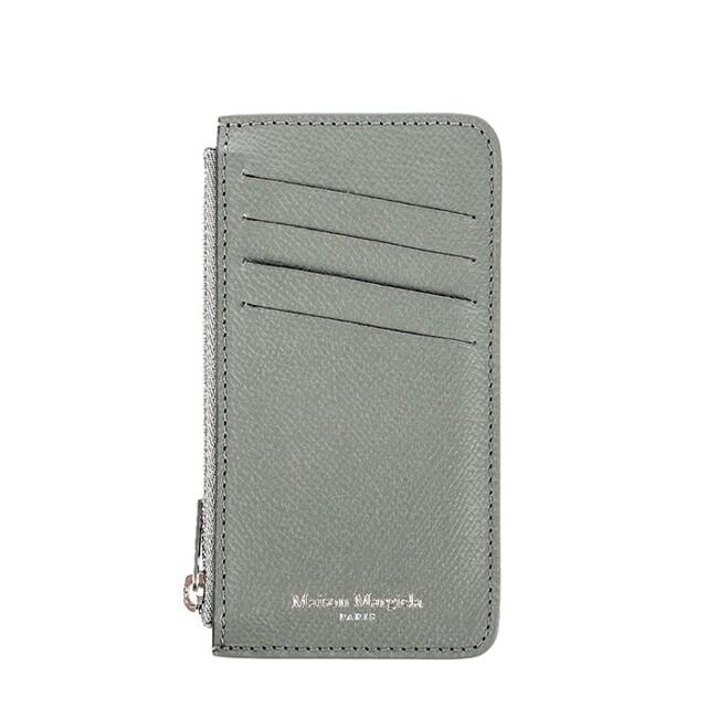 메종마틴마르지엘라 (S55UA0023 P0399 T8075) 남녀공용 지퍼 카드지갑 20F
