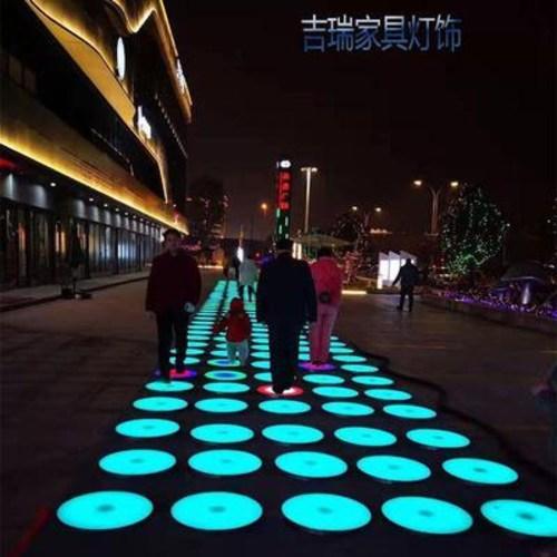 공중그네 회전그네 LED 그네 발리스윙 발광 원형음악 널뛰기 컬러풀러 중력감지 타일라이, 01 30x30x6