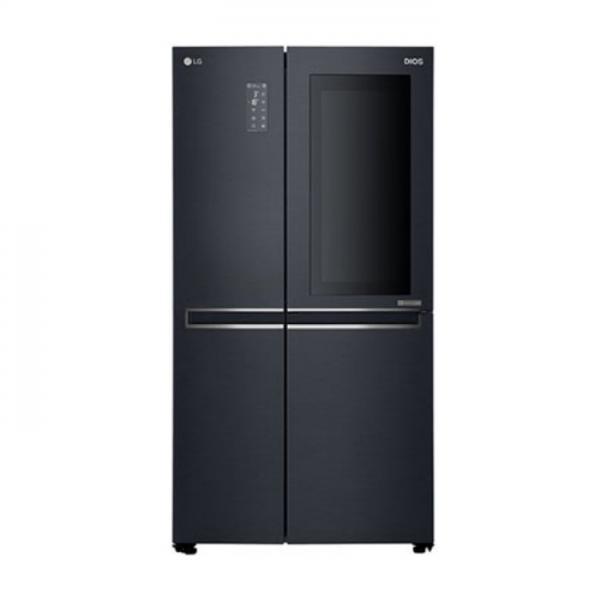 LG전자 프리미엄 엘지 2도어 양문형 냉장고 636L 노크온매직스페이스 세미빌트인 UV자외선 (POP 4326365231)