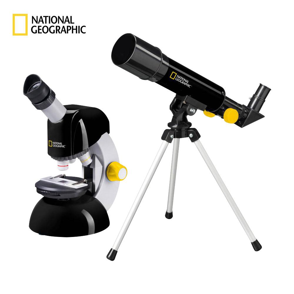 내셔널지오그래픽 TM SET 천체망원경+현미경 세트 + 켄코 STV-012Mp (K) 프레파라트