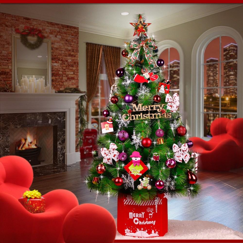 키즈바다 크리스마스트리 풀세트, 레드앤핑크