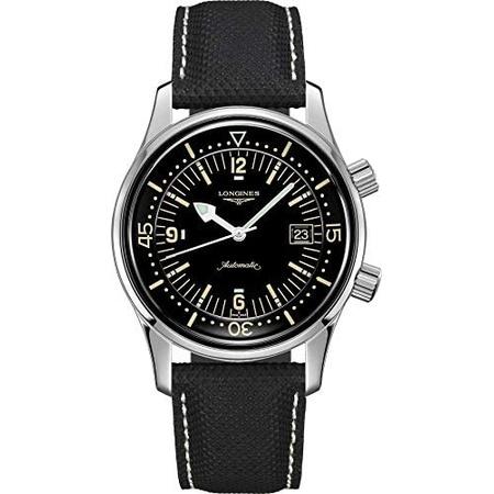 Longines Legend Diver Automatic Mens Watch L3.774.4.50.0 PROD210012770