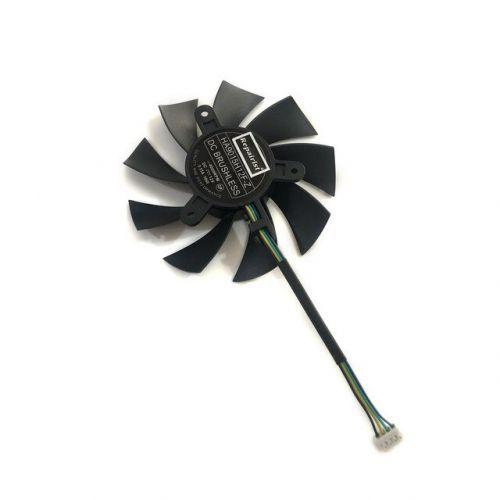 [해외] HA9015H12FZ 85MM 4PIN 40 RPM VGA GPU 쿨러 그래픽 카드 팬 MSI GTX 1060 OC GTX950 R7 360 2GD5 비디오 카드 냉각, 상세내용표시