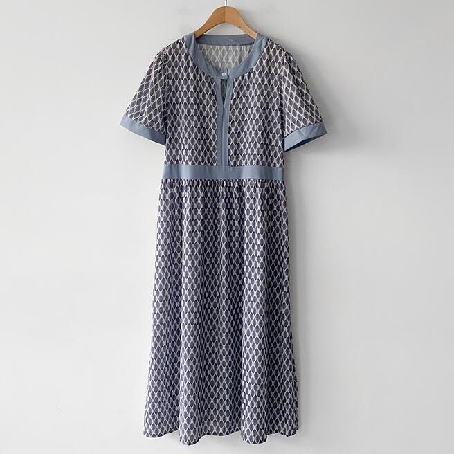 산드로 패턴 앞단추 봄 허리라인 원피스 연핑크 카키 소라 블랙