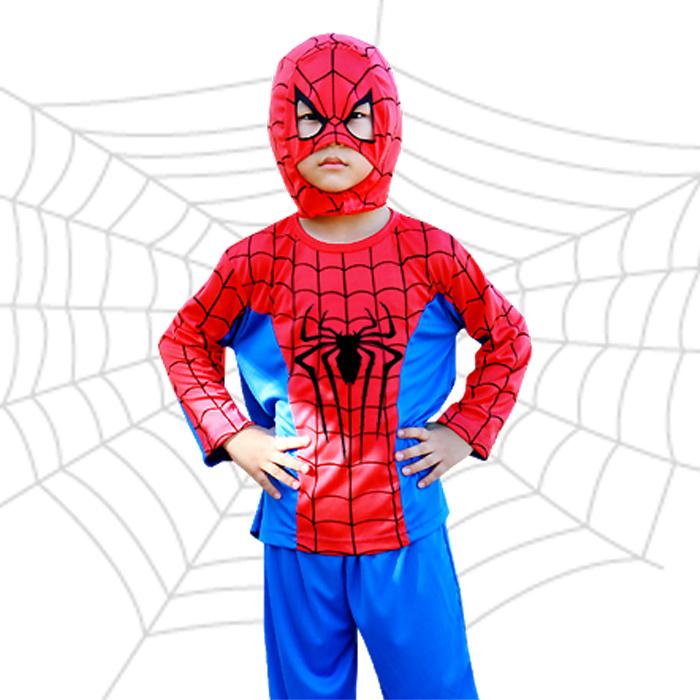 할로윈 의상 아동 히어로 코스튬 스파이더맨 배트맨 슈퍼맨