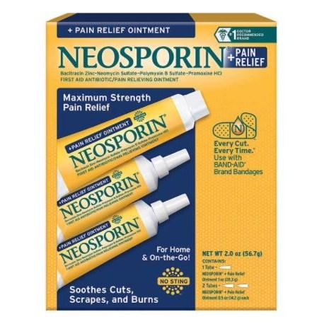 네오스프린 상처 흉터 연고 3개 세트 밸류팩 / Neosporin Ointment First Aid 3pack Value Pack