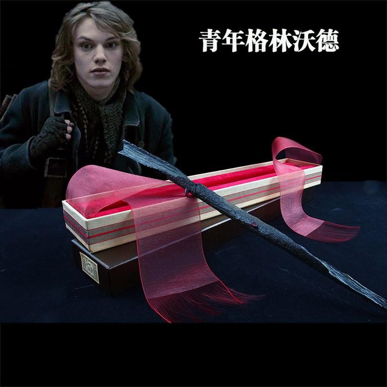해리포터 지팡이 정품 지팡이 헤르미온느 덤블도어 지팡이, 한 사이즈 + 그린 델 발트 (금속 코어 제외)개