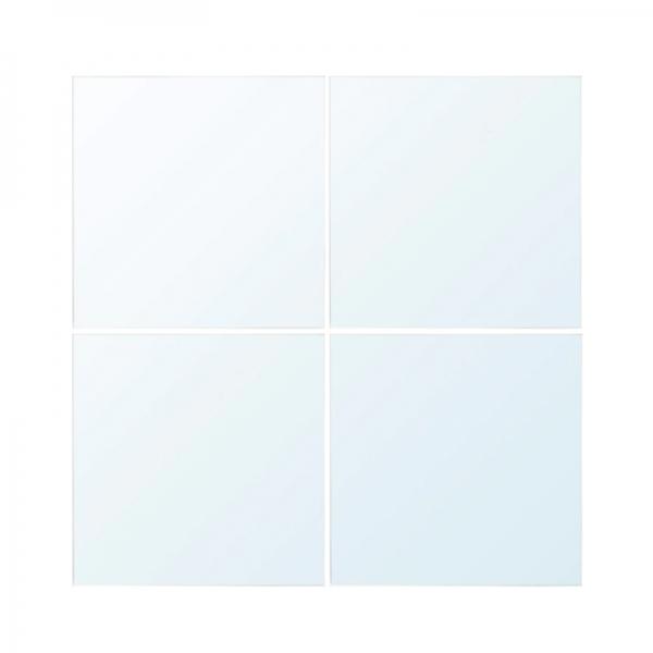 이케아 LOTS 롯스 거울 4개 30x30cm 101.728.16, Mirror