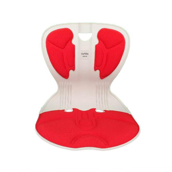 에이블루 바른자세 교정의자 - 커블체어 컴피 허리받침 레드 자세교정 의자