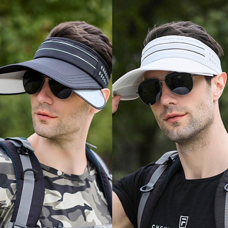 Product Image of the 등산모자 골프모자 썬바이저 선캡 라인 날개썬캡 자외선차단 모자 낚시모자