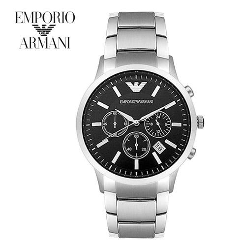 엠포리오 알마니 AR2434 남성 메탈시계