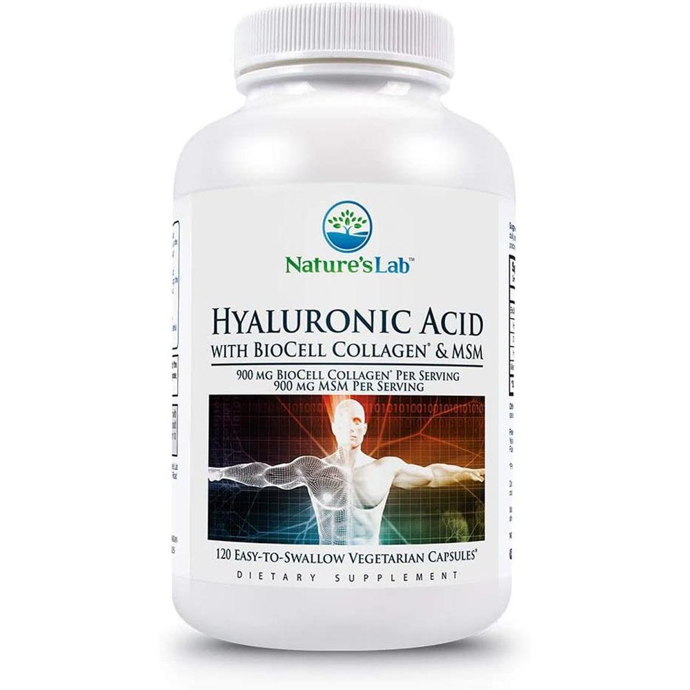 Natures Lab Hyaluronic Acid 히알루론산 120정, 1팩