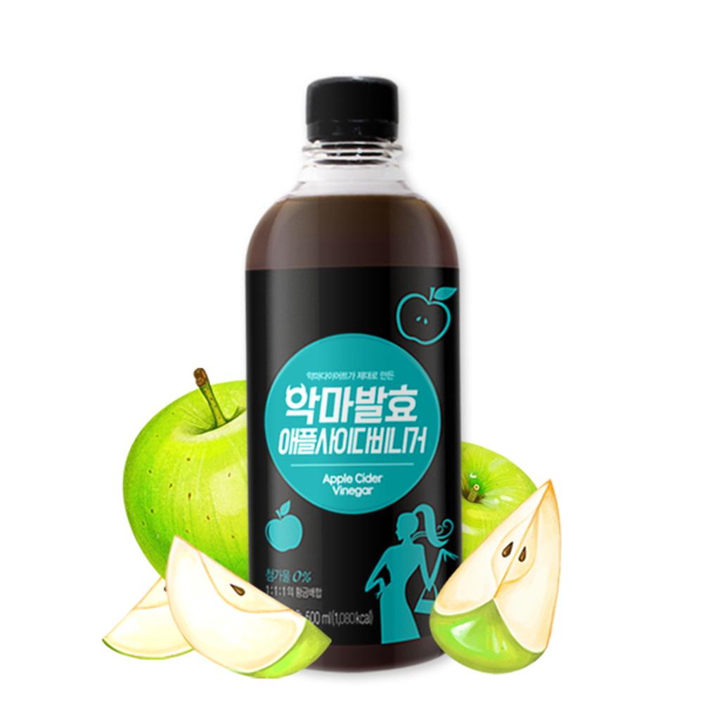 사과효모식초 마시는 애플사이다비니거 사과 초모 식초 발효식초 유기산 효능 사과식초