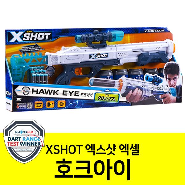 엑스샷 XSHOT 엑셀 호크아이 장난감 총 반자동 소프트건 샷건 스나이퍼