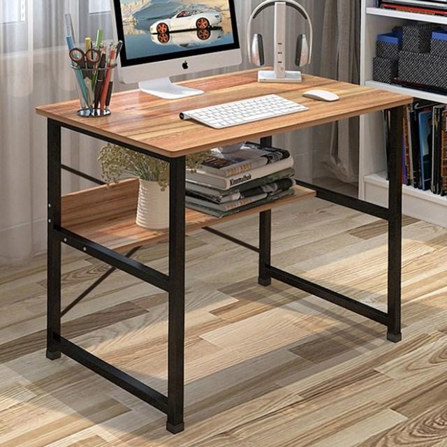 더준 1인용컴퓨터책상 입식테이블 중학생책상 컴터책상 게이밍, 800