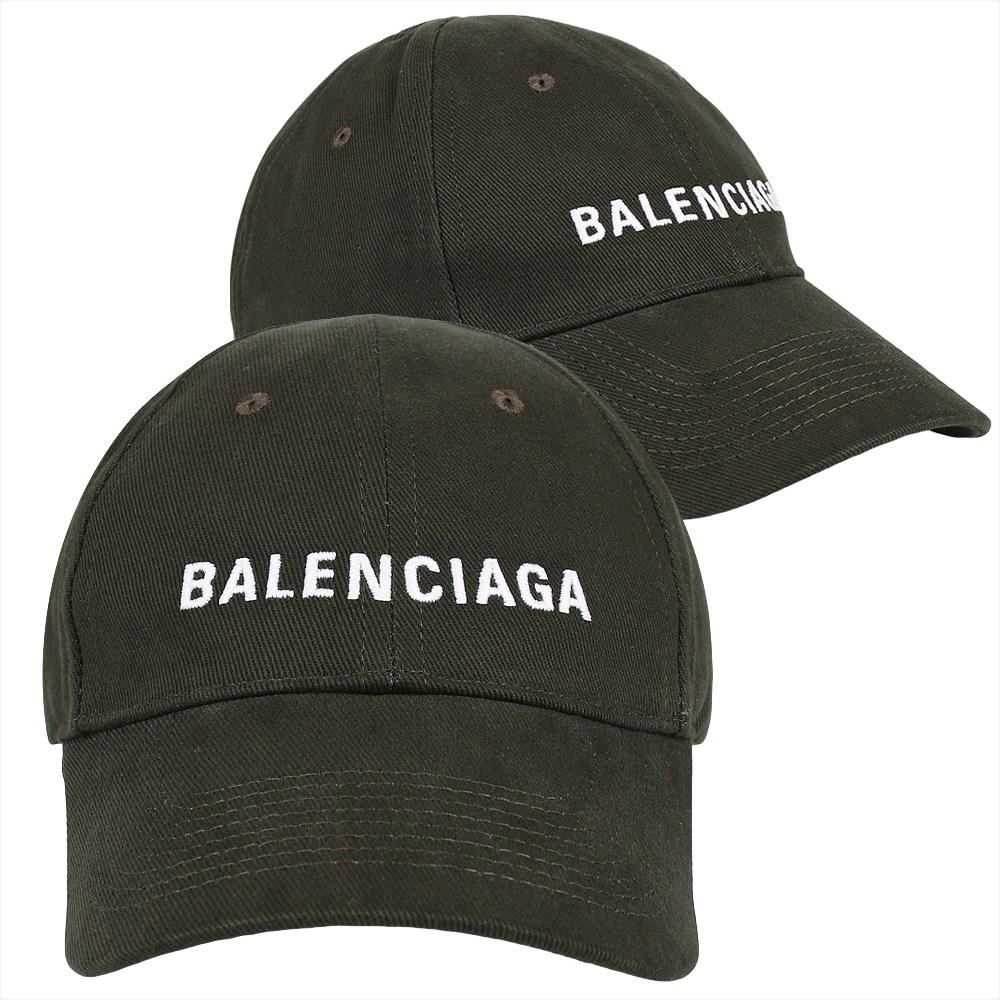 발렌시아가 20FW 로고 볼캡 (590758 410B2 2177)