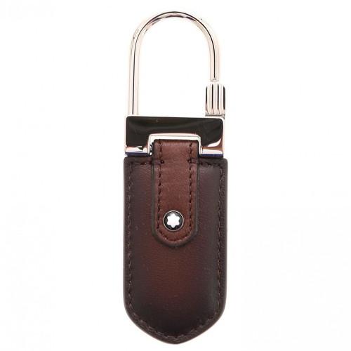 몽블랑 키홀더 키링 열쇠고리 118371 브라운