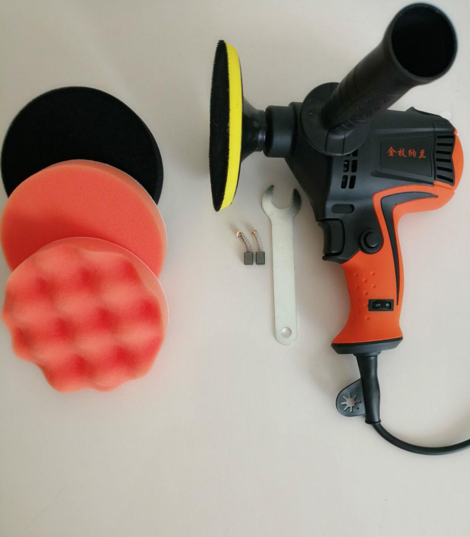 자동차 광택기 220V 바닥 왁싱 도구 전동 스크래치 리페어링 세트, 공장 액세서리 (980W)
