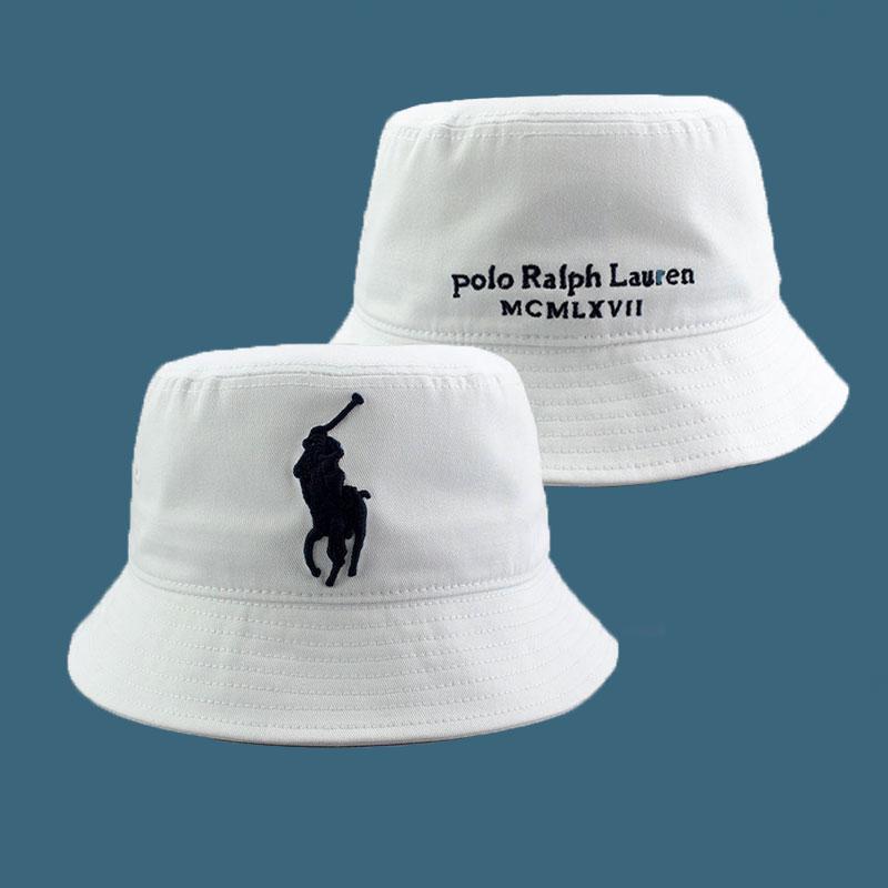 폴로랄프로렌 포니 남녀공용 로고 럭셔리 버킷햇 벙거지 모자