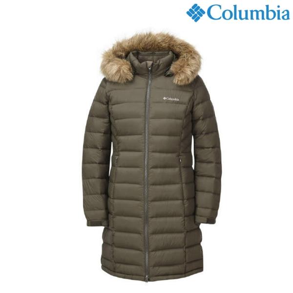 컬럼비아 컬럼비아CY4YLP392 여성용 구스다운 경량 재킷
