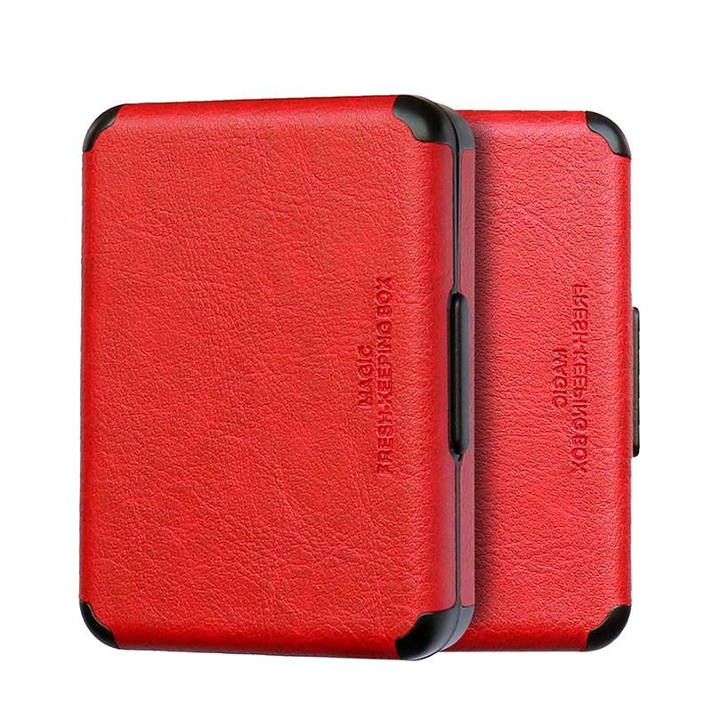 권렬 전자 담배 케이스 아이코스 듀오3 릴 하이브리드 2.0 플러스 파우치, 빨강색
