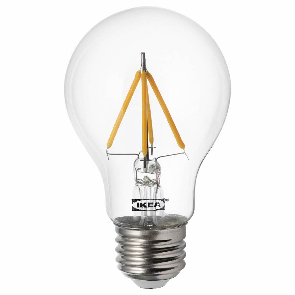 LED 전구 E26 470 루멘 뤼에트 구형 투명, 기본, 기본