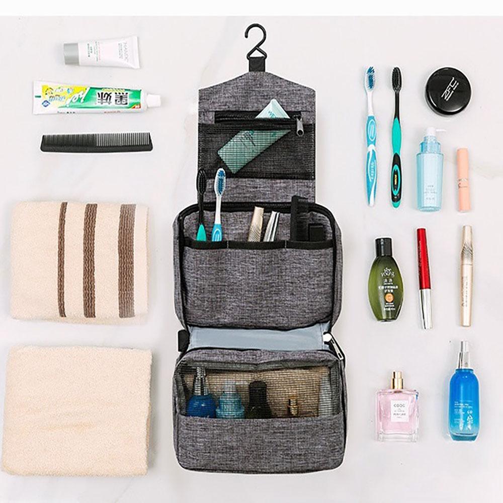 트레블러스 여행용 3단 걸이형 세면도구 방수 파우치백 세면가방