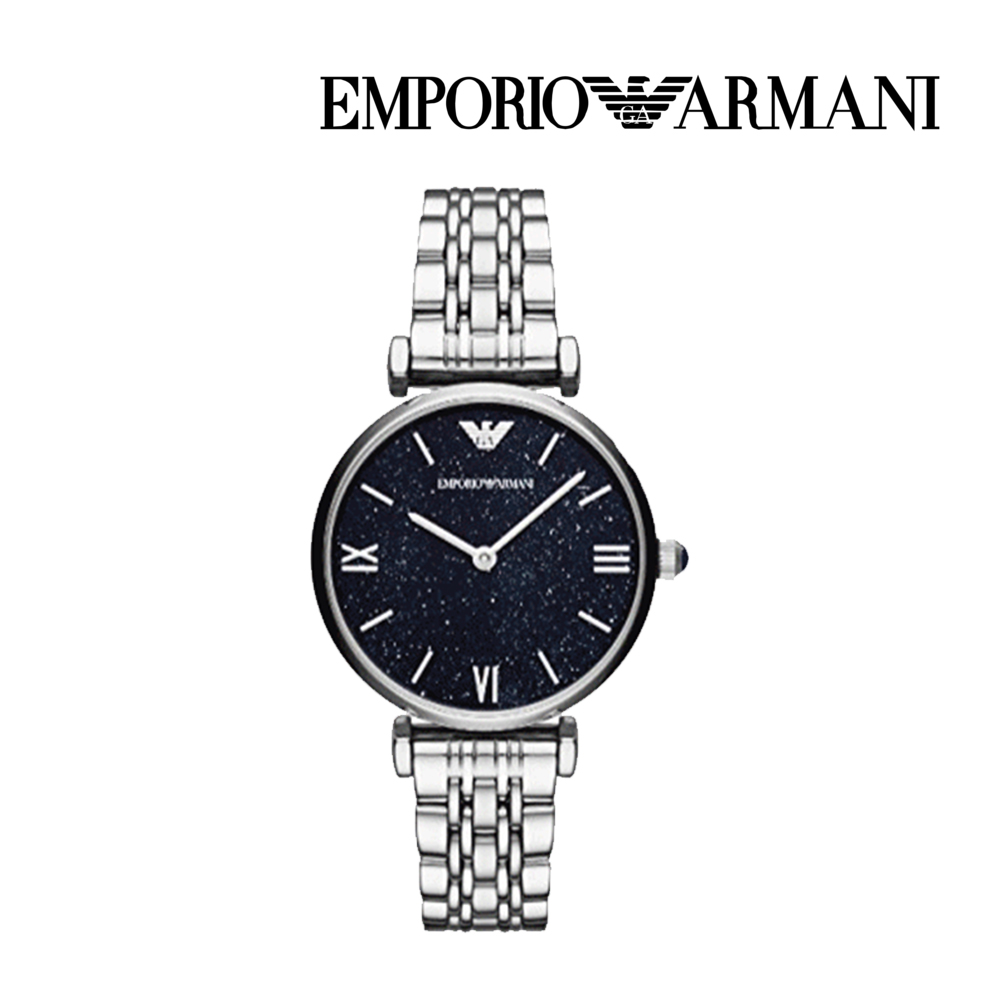 엠포리오 아르마니 여자 메탈 손목시계 AR11091