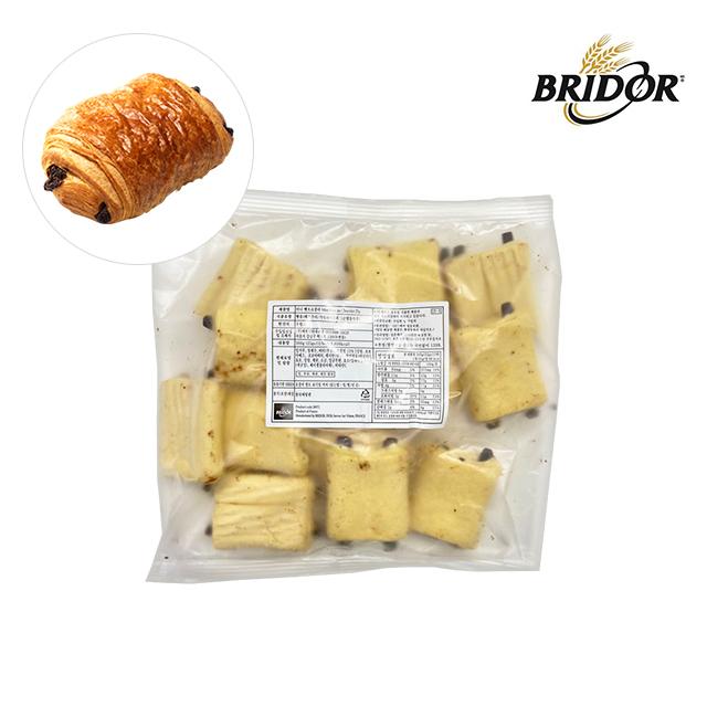 브리도 냉동 생지 미니 크로아상 뺑오쇼콜라 모닝 빵 에어프라이어 카페베이커리 티푸드 간식 12개입, 25g