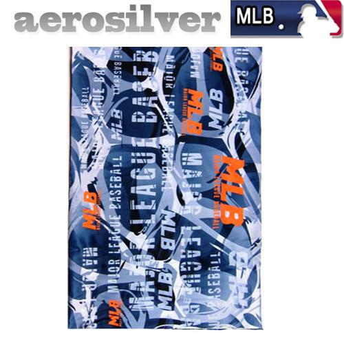 MLB 에어로실버 멀티스카프 냉감소재, 디렉션:블랙