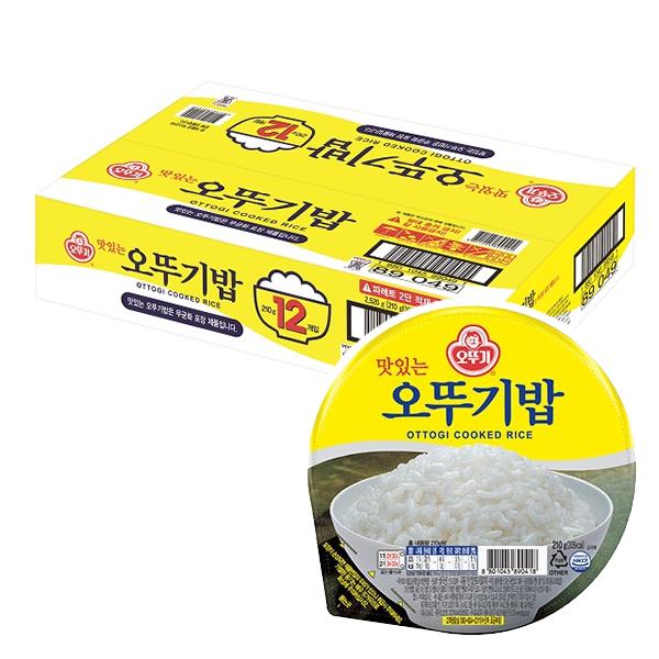 맛있는 오뚜기밥 210g x 24개/무료배송