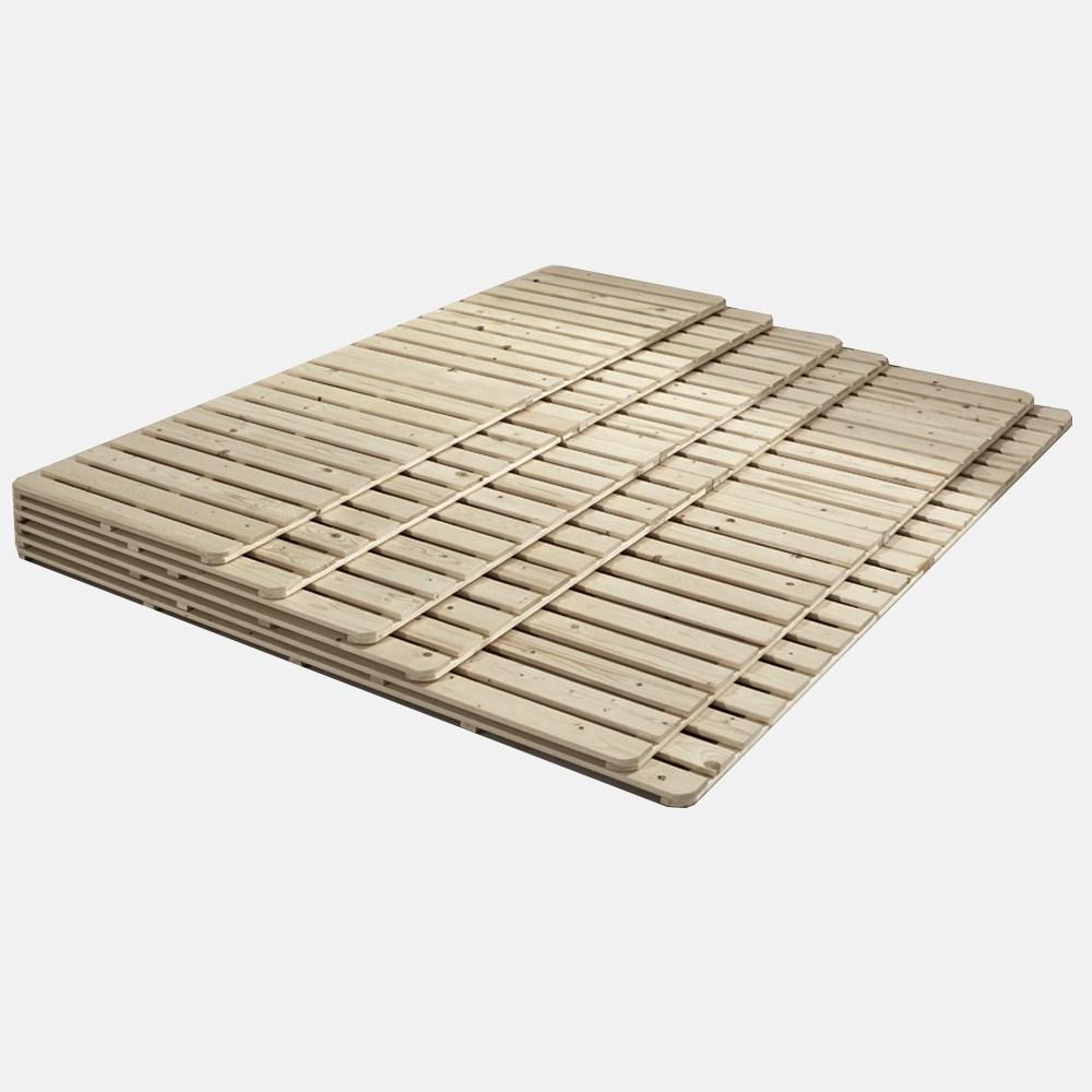 노르웨이숲 원목 침대 프레임 매트리스 깔판 저상형 패밀리 받침대 7size, 네추럴