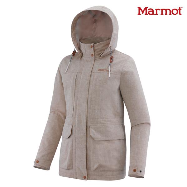 MARMOT 마모트 여성 블랑코 사파리 솔리드 자켓 1MMJKS6503