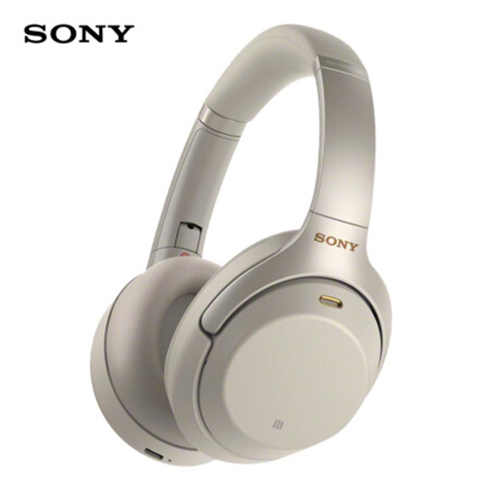 소니 WH-1000XM3 헤드셋 무선 블루투스 헤드폰, 없음, 골드