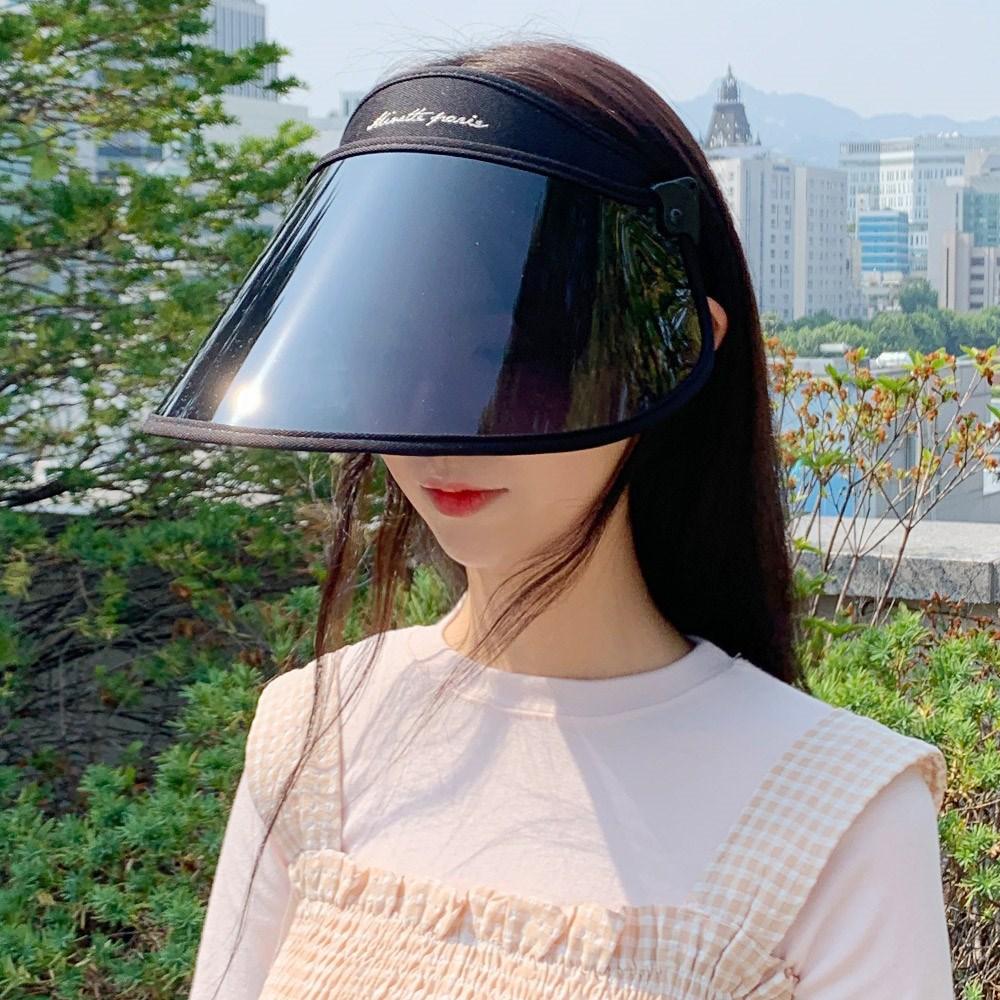 동대문모자 자외선 차단 모자 각도 썬캡 UV 햇빛가리개 여성 선캡