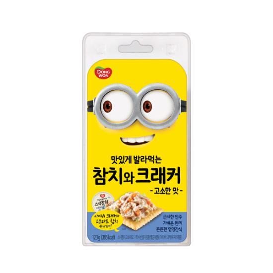 [동원] 참치와 크래커 (고소마요+아이비크래커), 1개