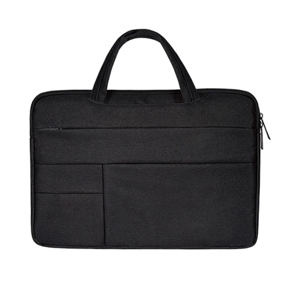 구즈파크 맥북 삼성 노트북 파우치 가방 13 15 15.6 인치, 블랙, 15.6in