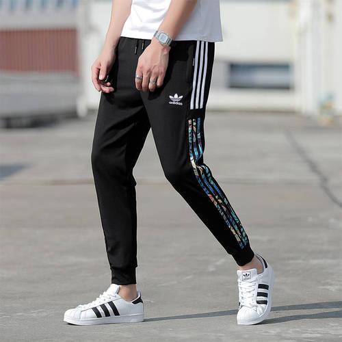 해외 남녀공용 아디다스 스포츠웨어 오리지날 트레포일 조거팬츠 슬림팬츠 트랙팬츠 아디다스 아디다스 여름 레저 클로버 스포츠 작은 발 구입