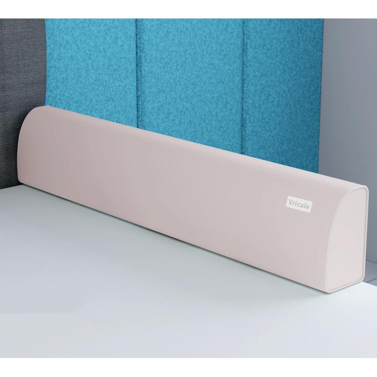 vricale 침대 울타리 침대가드 범퍼가드 낙상방지, 핑크 1.5m