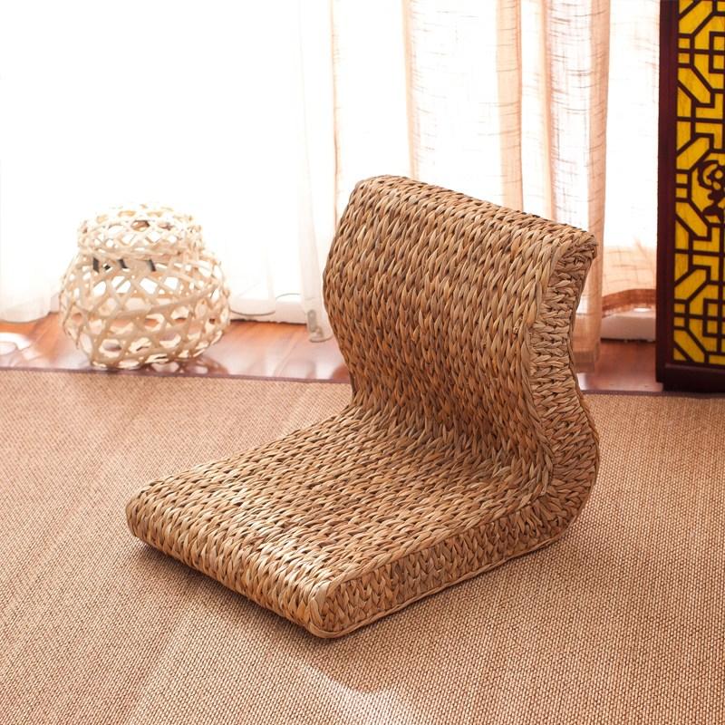 라탄의자 미니 원형라탄의자 라탄스툴 밀짚 등나무 인테리어의자, 선택1