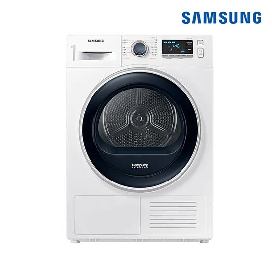 [K쇼핑]삼성전자 전기건조기 화이트 9kg DV90R6200QW 삼성물류 무료설치, WF23T9500KV