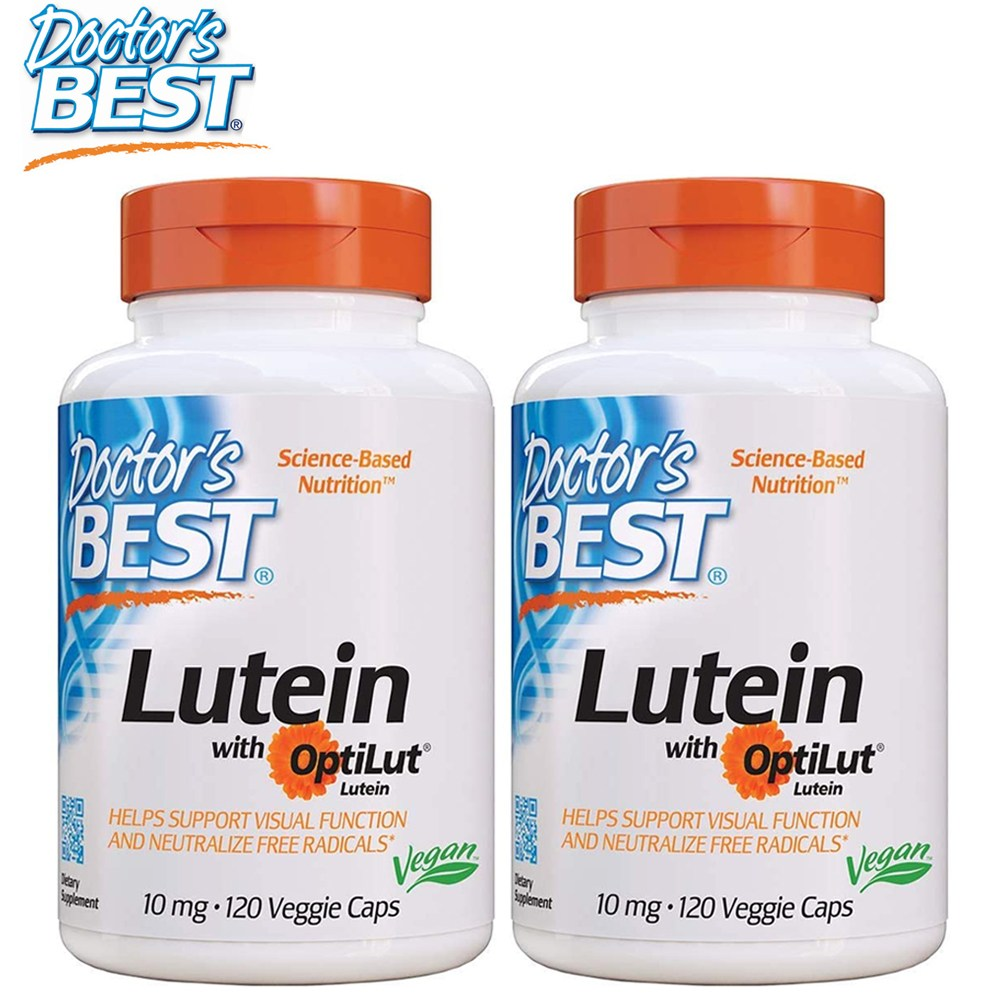 닥터스베스트 루테인 위드 옵티루트 10 mg 120캡슐 1+1 2병기획 지아잔틴 함유
