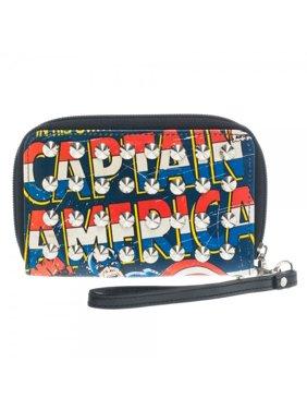 지갑 - 마블 - 캡틴 아메리카가 새로 인가한 gw13axmvl 주변에 Zip 박음