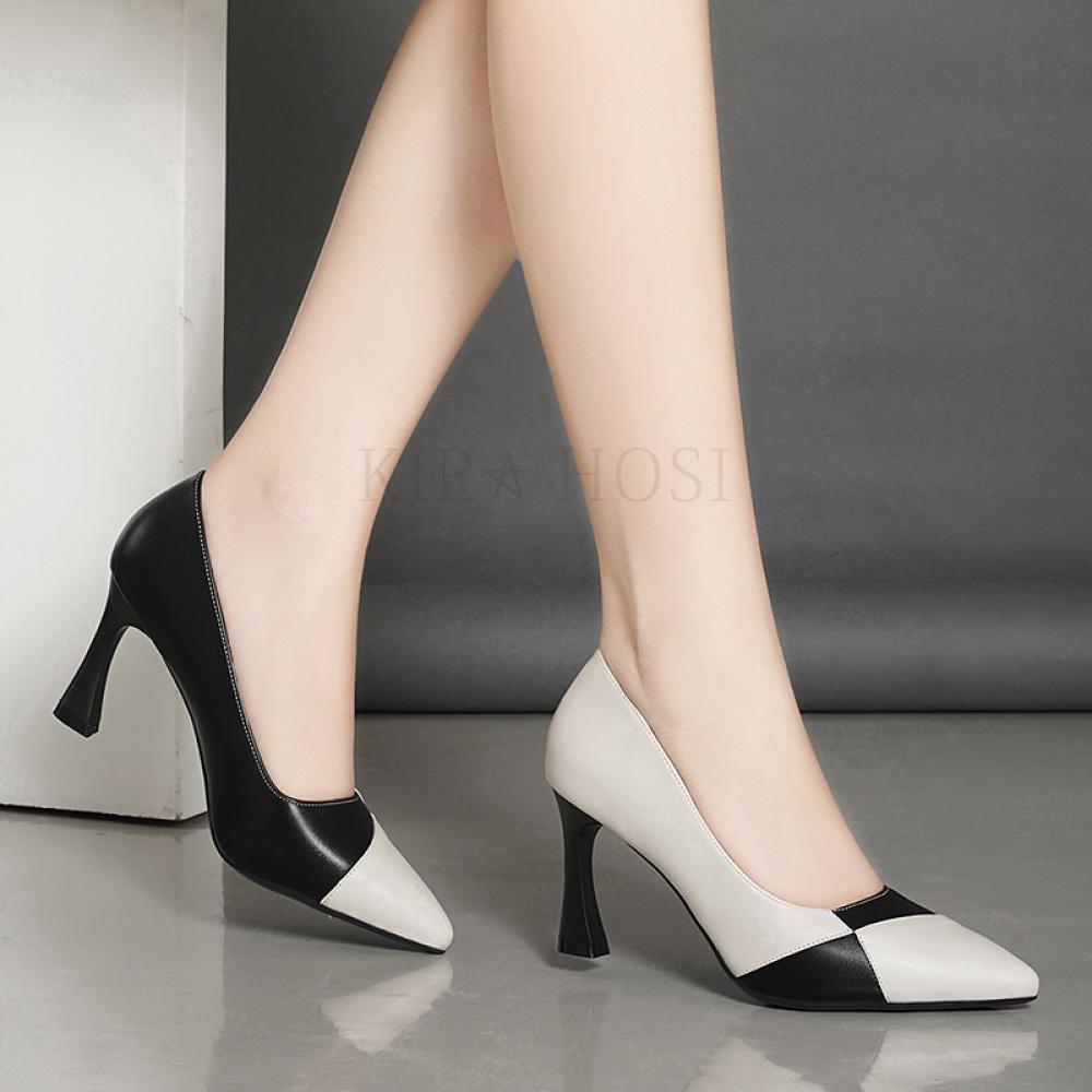 kirahosi 정교로운 여성구두 스틸레토 하이힐 펌프스 신발 128호 CHv20z8f
